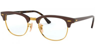 Frames - Ray-Ban® - RX5154 CLUBMASTER - 5969 TOP BROWN ON HAVANA YELLOW