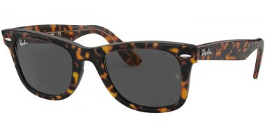 Sunglasses - Ray-Ban® - Ray-Ban® RB2140 ORIGINAL WAYFARER - 1292B1 HAVANA ON TRANSPARENT LIGHT BROWN // DARK GREY