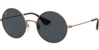 Lunettes de soleil - Ray-Ban® - Ray-Ban® RB3592 JA-JO - 914687 RUBBER COPPER // DARK GREY