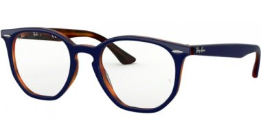 Frames - Ray-Ban® - RX7151 - 5910 TOP BLUE ON HAVANA RED