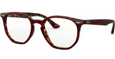 Frames - Ray-Ban® - RX7151 - 5911 TOP TRASPARENT RED ON HAVANA ORANGE