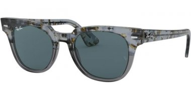 Sunglasses - Ray-Ban® - Ray-Ban® RB2168 METEOR - 1286R5 GRADIENT HAVANA GREY // BLUE