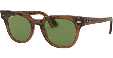 Sunglasses - Ray-Ban® - Ray-Ban® RB2168 METEOR - 128714 GRADIENT HAVANA BROWN // GREEN