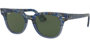 Sunglasses - Ray-Ban® - Ray-Ban® RB2168 METEOR - 128831 GRADIENT HAVANA BLUE // GREEN