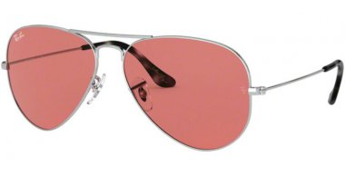 Sunglasses - Ray-Ban® - Ray-Ban® RB3025 AVIATOR LARGE METAL - 003/4R SILVER // VIOLET PHOTOCROMIC