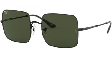 Sunglasses - Ray-Ban® - Ray-Ban® RB1971 SQUARE - 914831 BLACK // GREEN