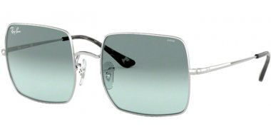 Sunglasses - Ray-Ban® - Ray-Ban® RB1971 SQUARE - 9149AD SILVER // PHOTOCROMIC AZURE GRADIENT BLUE