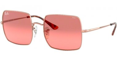 Sunglasses - Ray-Ban® - Ray-Ban® RB1971 SQUARE - 9151AA COPPER // PHOTOCROMIC RED GRADIENT BORDEAUX
