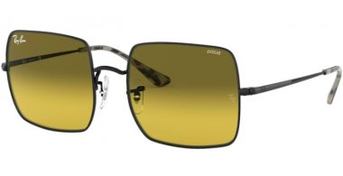 Sunglasses - Ray-Ban® - Ray-Ban® RB1971 SQUARE - 9152AB BLACK // PHOTOCROMIC YELLOW GRADIENT GREEN