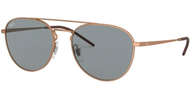 Sunglasses - Ray-Ban® - Ray-Ban® RB3589 - 9146/1 RUBBER COPPER // GREY