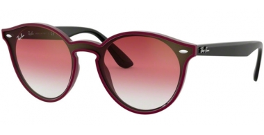 Sunglasses - Ray-Ban® - Ray-Ban® RB4380N - 64180T BORDEAUX DEMISHINY // CLEAR GRADIENT BORDEAUX GRADIENT BROWN