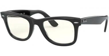 Sunglasses - Ray-Ban® - Ray-Ban® RB2140 ORIGINAL WAYFARER - 901/5F SHINY BLACK // PHOTOCROMIC GREY