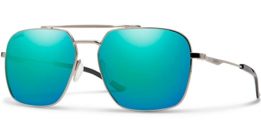 Gafas de Sol - Smith - DOUBLE DOWN - ANS (G0) RUTHENIUM // BLUE MIRROR ChromaPop™