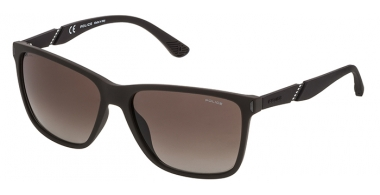 Sunglasses - Police - SPL529 SPEED 10 - 7FAP RUBBER BROWN // BROWN GRADIENT POLARIZED