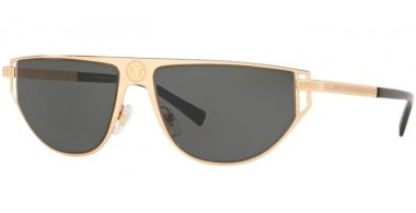 Sunglasses - Versace - VE2213 - 100287 GOLD // GREY
