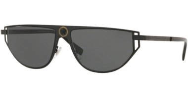 Sunglasses - Versace - VE2213 - 100987 MATTE BLACK // GREY
