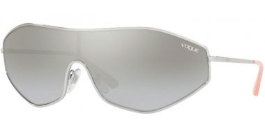 Sunglasses - Vogue - VO4137S G-VISION - 323/6V SILVER // LIGHT GREY GRADIENT MIRROR SIVLER
