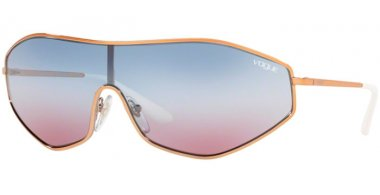 Sunglasses - Vogue - VO4137S G-VISION - 50750K ROSE GOLD // BLUE VIOLET GRADIENT