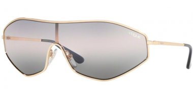 Sunglasses - Vogue - VO4137S G-VISION - 848/0J PALE GOLD // PINK GREY GRADIENT BLUE