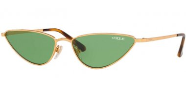 Sunglasses - Vogue - VO4138S LA FAYETTE - 280/2 GOLD // DARK GREEN