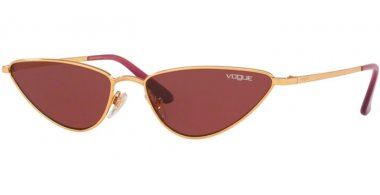 Sunglasses - Vogue - VO4138S LA FAYETTE - 280/69 GOLD // DARK VIOLET