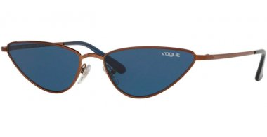 Sunglasses - Vogue - VO4138S LA FAYETTE - 507420 COPPER // DARK BLUE