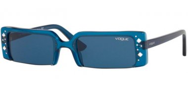 Sunglasses - Vogue - VO5280SB SOHO - 206580 TRANSPARENT DARK BLUE // DARK BLUE