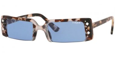 Sunglasses - Vogue - VO5280SB SOHO - 272276 BROWN GREY HAVANA // DARK VIOLET