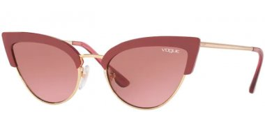 Sunglasses - Vogue - VO5212S - 279814 OPAL CHERRY // PINK BROWN GRADIENT