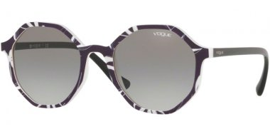 Sunglasses - Vogue - VO5222S - 269411 TOP BLACK WHITE // GREY GRADIENT