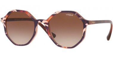 Sunglasses - Vogue - VO5222S - 269513 TOP HAVANA BEIGE BROWN // BROWN GRADIENT