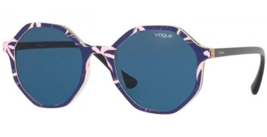 Sunglasses - Vogue - VO5222S - 269680 TOP BLUE PINK YELLOW // BLUE