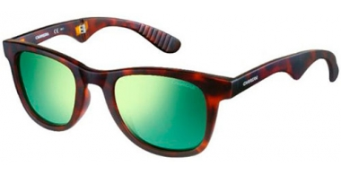 Gafas de Sol - Carrera - CARRERA 6000/FD FOLDING - 853  (Z9) HAVANA // GREEN MULTILAYER