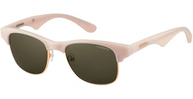 Sunglasses - Carrera - CARRERA 6009 - DED (QT) IVORY GOLD // GREEN