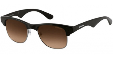 Sunglasses - Carrera - CARRERA 6009 - DEA (CC) SHINY BLACK RUTHENIUM // BROWN GRADIENT
