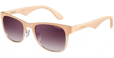 Sunglasses - Carrera - CARRERA 6010 - 0UK (N3)  CREME GOLD BEIGE // GREY GRADIENT