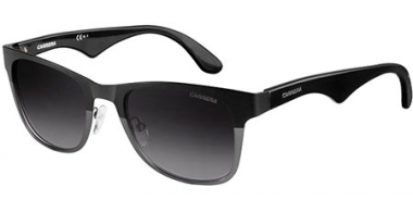 Sunglasses - Carrera - CARRERA 6010 - 0UI (9O) MATTE BLACK DARK RUTHENIUM // DARK GREY GRADIENT