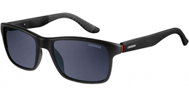 Gafas de Sol - Carrera - CARRERA 8002 - DL5 (TD) MATTE BLACK // GREY POLARIZED
