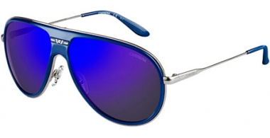 Sunglasses - Carrera - CARRERA 87/S - 8ET (XT) BLUE RUTHENIUM // BLUE SKY MIRROR