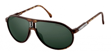 Sunglasses - Carrera - CHAMPION/HI - XEN (79) MATTE DARK HAVANA // GREY GREEN TEMPERED CRYSTAL