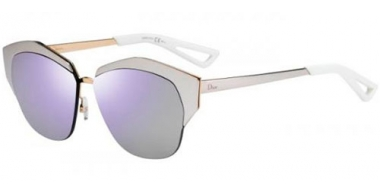 Gafas de Sol - Dior - DIORMIRRORED - D4W  (DC) PALE ROSE GOLD // EXTRA WHITE MULTILAYER