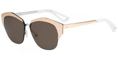 Gafas de Sol - Dior - DIORMIRRORED - I20  (6J) ROSE GOLD PALLADIUM // BROWN