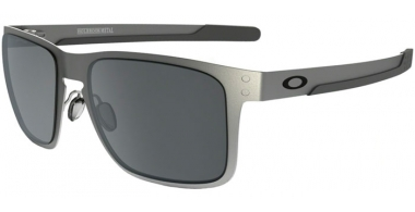 Gafas de Sol - Oakley - OAKLEY HOLBROOK METAL - 4123-03 SATIN CHROME // BLACK IRIDIUM