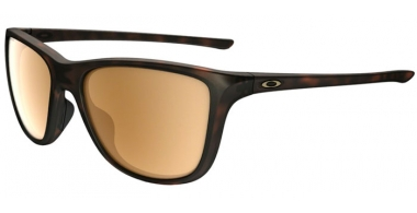Sunglasses - Oakley - REVERIE OO9362 - 9362-05 MATTE BROWN TORTOISE // TUNGSTEN IRIDIUM POLARIZED