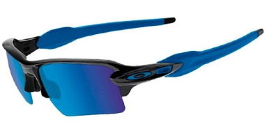 Gafas de Sol - Oakley - FLAK 2.0 XL OO9188 - 9188-23 POLISHED BLACK // SAPPIRE IRIDIUM