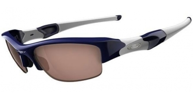 Gafas de sol - Oakley - FLAK JACKET OO9008 - 03-904 POLISHED NAVY // VR28 BLACK IRIDIUM