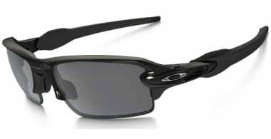 Gafas de Sol - Oakley - FLAK 2.0 OO9295 - 9295-07 POLISHED BLACK // BLACK IRIDIUM POLARIZED