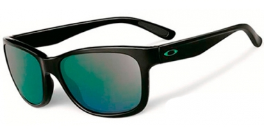 Gafas de Sol - Oakley - FOREHAND OO9179 - 9179-28 POLISHED BLACK // EMERALD IRIDIUM