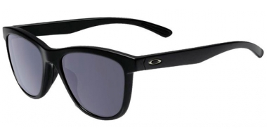 Gafas de Sol - Oakley - MOONLIGHTER OO9320 - 9320-01 POLISHED BLACK  // GREY