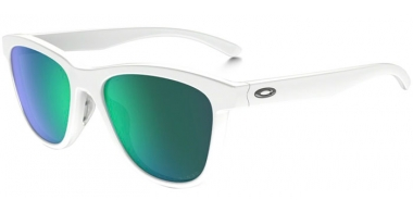 Gafas de Sol - Oakley - MOONLIGHTER OO9320 - 9320-06 POLISHED WHITE // JADE IRIDIUM POLARIZED